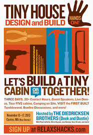 Tumbleweed Tiny House Workshop by Relaxshacks Com August 2013
