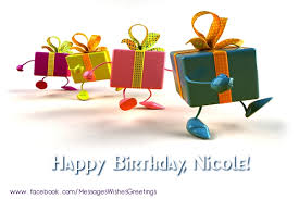 la multi ani nicole greetings cards for birthday for nicole