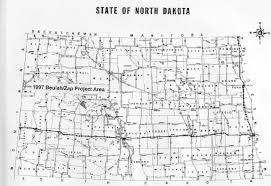 beulah dakota map 1997 completed projects archive service commission