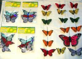 butterfly for hair butterfly lot wholesale destash lot feather butterflies for
