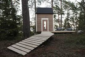 96 sq foot finnish micro cabin built small to forego permits