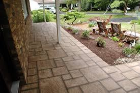 Backyard Flooring Options - patio flooring options over concrete home design ideas outdoor