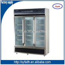 fridge freezer glass door for blood and vaccines jga customized noiseless large medicine