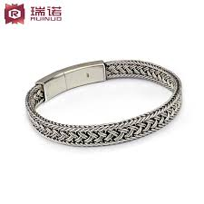 sterling silver woven bracelet images Moreno korean fashion 925 sterling silver jewelry hand woven jpg