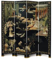 nice oriental screen room divider antique chinese room divider