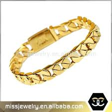 mens gold bracelets designs sterling silver with gold accents link