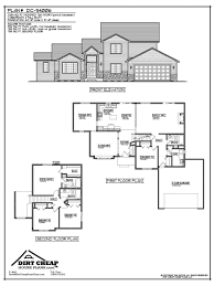 basement wondrous partial walkout basement house plans dc