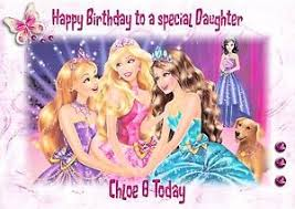 personalised birthday card barbie daughter grandaughter niece