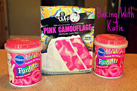pink camouflage cake mix cupcakes experiment duff goldman from