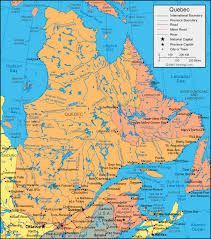 road map canada map satellite image roads lakes rivers cities