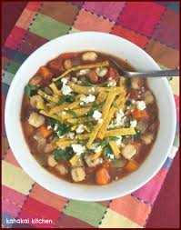kahakai kitchen mexican hominy u0026 bean tortilla soup a variation