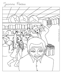 jeanne shopping coloring pages hellokids com