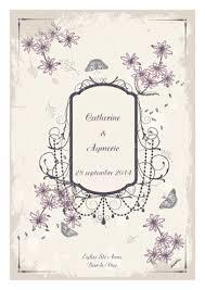 messe de mariage un livret de messe mariage sur le thème vintage rétro chêtre