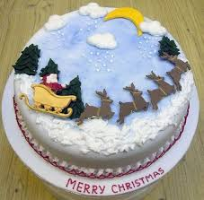 Christmas Cakes Pictures Decorated