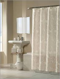 L Shaped Vanity Bathroom Interesting L Shaped Shower Curtain Rod For Small
