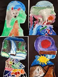 watercolor silhouettes lorraine skelton u0027s 3rd grade art classes