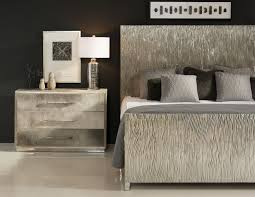 aragon metal wrapped king bed bernhardt interiors luxe home