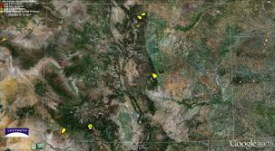 Active Wildfire Map by Wildfires And Gas Wells U2013 Pine Ridge Fire Colorado U2013 Skytruth