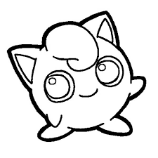 pokemon jigglypuff coloring page pokemon jigglypuff coloring page