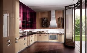 plaque de marbre cuisine cuisine contemporaine en marbre en plaqué bois laquée