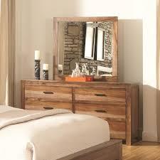 King Platform Bed Set Coaster Peyton 4pc King Platform Bedroom Set In Natural Brown