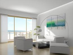 beach house interior white wooden based for wall modern beach
