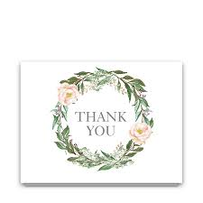 floral thank you card archives noted occasions unique and