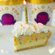 happy birthday pie u2014 halo top