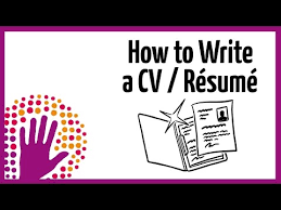 How To Do A Resume For A Job by Employment Cv