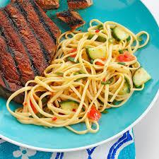 Cold Pasta Salad Dressing Italian Linguine Salad Recipe Taste Of Home