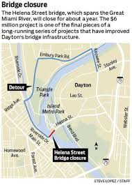 Map Of Dayton Ohio by Bridge Project Part Of 175m Investment