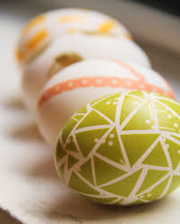 Nordstrom Easter Decorations by Diy Washi Tape Easter Eggs Lovely Indeed