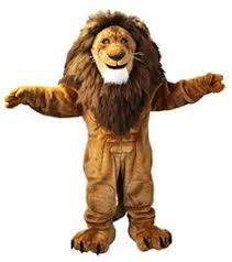 Halloween Lion Costume Brizzly Bristol Rugby Mascot Bristol Rugby