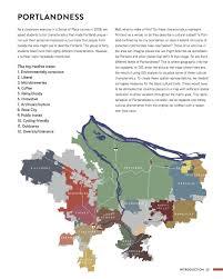 University Of Portland Map by Portlandness A Cultural Atlas David Banis Hunter Shobe