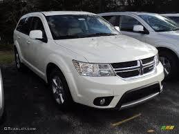 Dodge Journey 2012 - 2012 ivory white tri coat dodge journey sxt awd 58724951 photo 3