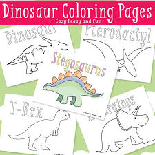 Dinosaur Coloring Pages Easy Peasy And Fun Dinosaur Coloring Page