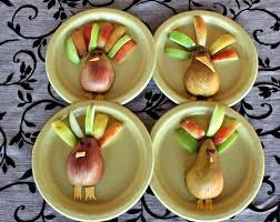 thanksgiving fruit turkey desert chica