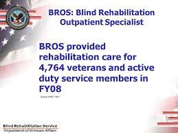 Blind Rehabilitation Blind Rehabilitation Service State Of The Program U2013 8 18 09