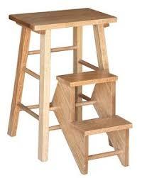 amish folding step stool stools shaker style and garage storage