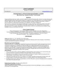 Manufacturing Resume Sample by Management Outsourcing Services Resume Writing