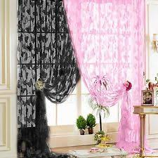 Butterfly Lace Curtains Window Lace Curtains Ebay