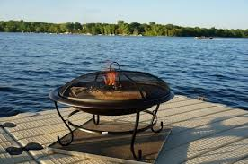 Firepit Pad Deck Protect 36 Inch By 36 Inch Pit Pad And Rack Dp4002