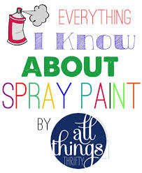everything i know about how to spray paint faq all things thrifty