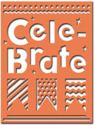 celebrate plate spellbinders celebrations die celebrate plate scd 015