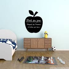 stickers ardoise cuisine stickers ardoise pin stickers musique on deco wall