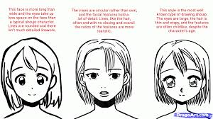 types of hair lines how to draw shojo draw shoujo anime step by step anime females