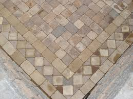 Patio Pavers Ideas by Stone Pavers Designs Paver Pattern Close Up View Of In Laid