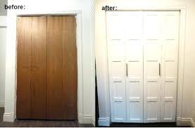 How To Install Folding Closet Doors Alternative To Bifold Doors Alternatives To Closet Door Image Of
