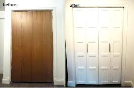 Installing A Closet Door Alternative To Bifold Doors Alternatives To Closet Door Image Of