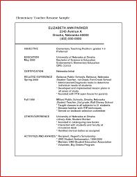 free teacher resume templates word unique sle teacher resume formal letter